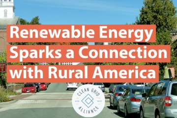 Renewable Energy Sparks a Connection with Rural America