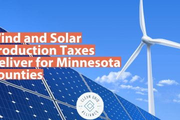 Wind and Solar Production Taxes Deliver for Minnesota Counties