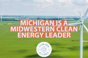 Michigan is a Midwestern Clean Energy Leader