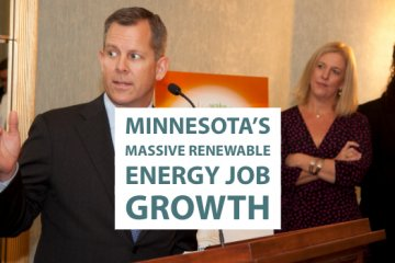 Minnesota Renewable Energy Job Growth Is the Focus of New Report and Case Study