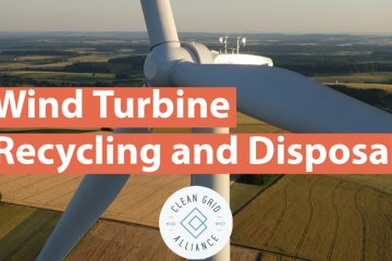Wind Turbine Recycling and Disposal