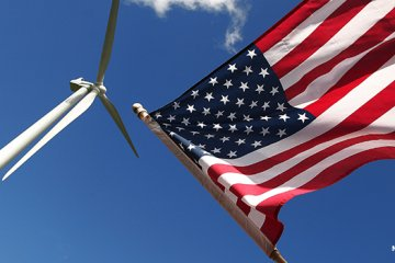 Wind energy plays a part in making America great