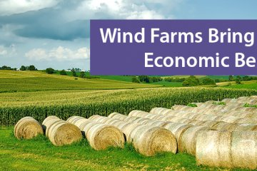 New Study Shows Local Economic Benefits of Wind Farms
