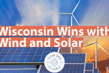Wisconsin Wins with Wind and Solar