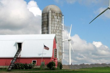 Smart Choice:  Wind energy puts farmland to work in a new way