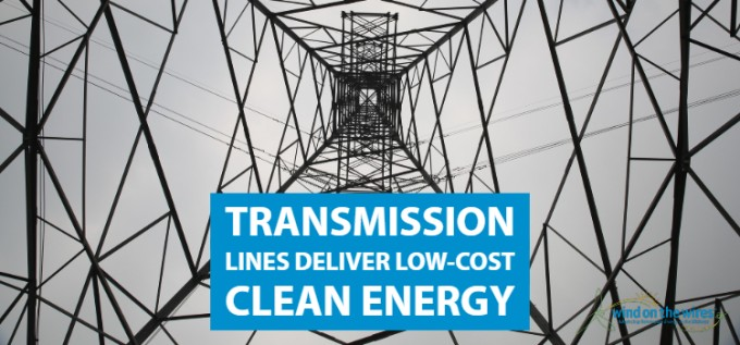 Transmission Lines Essential for Reliable Low Cost Energy   Wind on the Wires