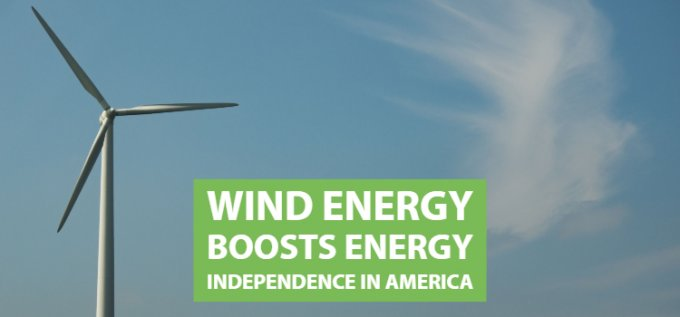Wind Energy Boosts Energy Independence in America   Wind on the Wires