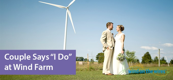 Wind Farm Wedding   Wind on the Wires