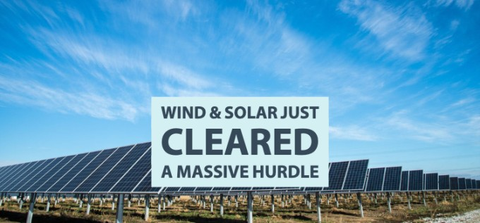 Wind and Solar Just Cleared a Massive Hurdle   Clean Grid Alliance